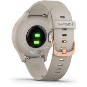 Garmin Vivomove 3S Smartwatch white/rose gold
